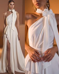 May 2020 - Women Elegant Bow Long Dress White Club Party Dress Fashion High Waist Sexy Maxi Dress Vestidos Sexy Maxi Dress, Sexy Dresses, Fashion Dresses, Prom Dresses, Dress Up, Formal Dresses, Bridesmaid Gowns, Special Dresses, Style Couture