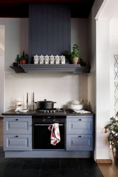 """This stylish kitchen is from our feature """"Sparks & Perks"""""""