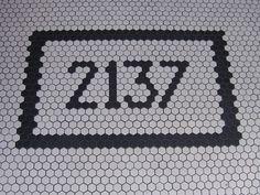 Coterie entry tile