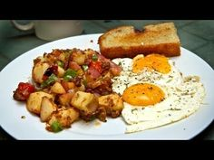 Classic Breakfast: Perfect Eggs & Potato Hash Recipe!    Here's a classic, all-American, 'diner'-style breakfast: sunny-side-up eggs and a delicious potato hash.    And don't forget to sign up for our new, weekly(ish) newsletter for extra tidbits, more recipes, and updates on the Working Class Foodies cookbook: http://eepurl.com/dIBpM