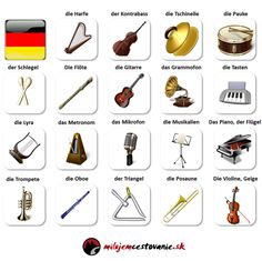 Hudba sprevádza ľudstvo od dávnych čias. Tak ako sa zdokonaľuje technika, postupne sa modernizuje aj svet hudby. Hudobné nástroje a hudba po nemecky