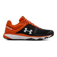 Under Armour Mens Yard Trainer - Black 15 Under Armour Shoes, Under Armour Men, Nike Shoes For Boys, Heel Stretch, Baseball Shoes, Shoe Department, Mens Fashion Shoes, Trail Running Shoes, Best Sneakers