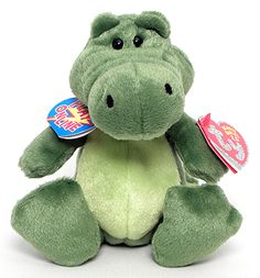 76611ad031c Chompy - Alligator - Ty Beanie Babies 2.0 Plastic Pellets