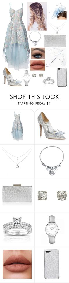 """Races"" by livylash ❤ liked on Polyvore featuring Notte by Marchesa, Jimmy Choo, Belk Silverworks, Monsoon, Annello, CLUSE and Kate Spade"