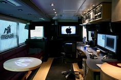 Tour Bus Interior by patriciadelcarmen, via Flickr