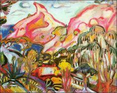 Othon Friesz (France, 1879 - 1949) Bec de l'Aigle, La Ciotat / Beak of the Eagle, La Ciotat, 1906-7 oil on canvas 65.5 x 81 cms.