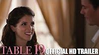 Table 19 Official Trailer #1 (2017) Anna Kendrick Comedy Drama Movie HD