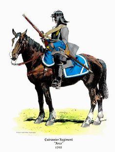 Oderint Dum Probent: Bavarian cuirassier regiments 1701-1704
