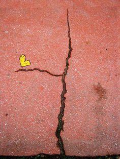 Cute and Clever Street Art of Alexey Menschikov - My Modern Metropolis