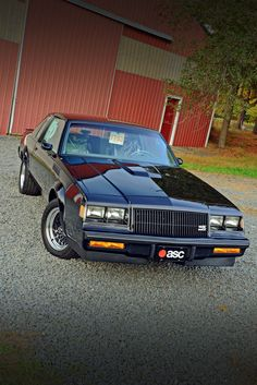 Feature on last built 1987 buick gnx. Darth Vader, Sexy Cars, Hot Cars, Buick Grand National Gnx, National Car, Buick Cars, Chevy Muscle Cars, Sport Cars, Dreams