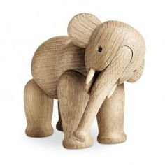 This Wooden Elephant, designed by Kay Bojesen for Rosendahl, is an object of pure crafted beauty.