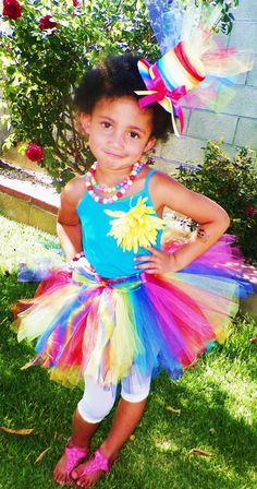 Circus / Carnival tutu and top hat by RMarieBoutique on Etsy, $25.00