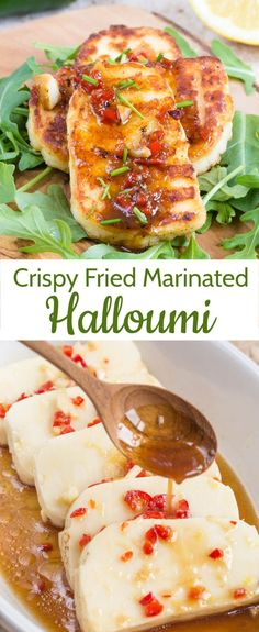 halloumi cheese works so well with spices: add interest with chili, li. -Versatile halloumi cheese works so well with spices: add interest with chili, li. Greek Recipes, Veggie Recipes, Seafood Recipes, Vegetarian Recipes, Cooking Recipes, Healthy Recipes, Vegetarian Cooking, Halumi Cheese Recipes, Hallumi Recipes
