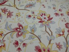 French General Stationery ~ 3 Sheets ~ Birds ~ Flowers ~ ECS
