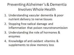 how to prevent Alzheimer's and dementia  Visit us on goimprovememory.com  Via  google images  #memory #memorys #memorylane #memorybox #memoryfoam #memories #memoryloss #improvememory #memoryday #memoryhelp #memorybook