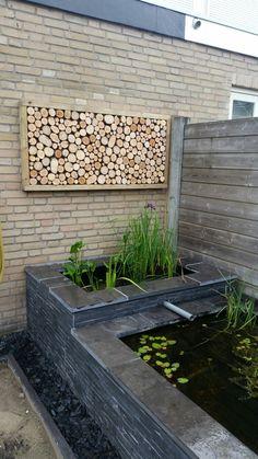 Houten tuinbord, wooden slices, tuin, wandbord, wood, rustic, garden