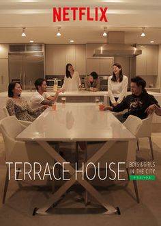 "Assista a ""Terrace House: Boys & Girls in the City"" na Netflix"