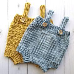 Hækleopskrifter til baby Archives Crochet Baby Bloomers, Crochet Romper, Crochet Bebe, Crochet Baby Clothes, Crochet For Kids, Easy Crochet, Knit Crochet, Free Crochet, Baby Knitting Patterns