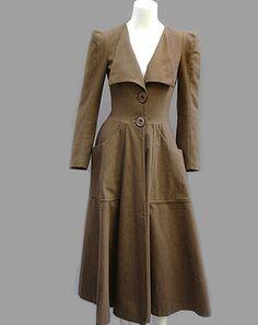 Vintage Biba coat. Love.
