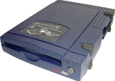 The Iomega 100mb Zip Drive