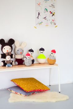 crochet toys from ATARGULE + CONSTANT