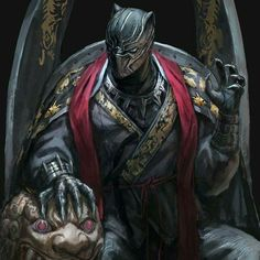 How many times have you seen Black Panther? Black Panther in Korean traditional clothes by In Shoo Key Film Dates:: Marvel - Black Panther: Feb 2018 - The Avengers: Infinity War: May 2018 -. Marvel Fanart, Marvel Comics Art, Marvel Heroes, Captain Marvel, Marvel Vs, Storm Marvel, Black Panther Marvel, Black Panther Art, Black Panther Tattoo