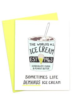 Ice cream doesn't fix problems but it sure does help!  www.mooreaseal.com