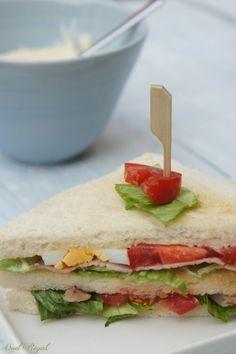 Club sandwich...et comment réussir la mayonnaise !