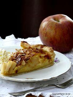 Tarte aux pommes Normandie