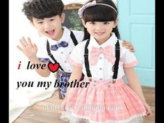 I Love 💜You My💜 Brother 💓 new best whatsapp status in hindi i love my brother brother- sister love song // This is a song dedicated to all the Sisters by all. New Whatsapp Status, Status Hindi, You And I, I Love You, My Love, Brother Status, Sister Songs, New Whatsapp Video Download, Brother And Sister Love