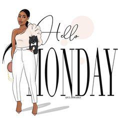 Black Girl Cartoon, Black Girl Art, Black Women Art, Black Girl Magic, African American Quotes, Diva Quotes, Positive Quotes For Women, Weekday Quotes, What Day Is It