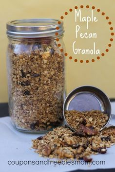 homemade granola snack