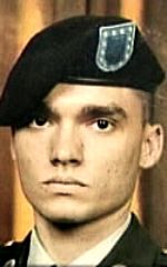 Army PFC Marius L. Ferrero, 23, of Miami, Florida. Died November 18, 2007, serving during Operation Iraqi Freedom. Assigned to 1st Battalion, 38th Infantry Regiment, 4th Stryker Brigade Combat Team, 2nd Infantry Division, Fort Lewis, Washington. Died of injuries sustained when a suicide bomber detonated an improvised explosive device near his vehicle during combat patrol operations in Baqubah, Diyala Province, Iraq,
