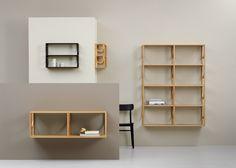 Note Design designs modular Arch bookshelf system for Fogia