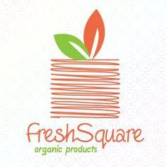 #Fruit Square #logo