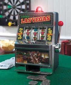 Slot Machine Coin Bank