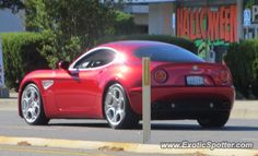Alfa Romeo 8C spotted in Beverly Hills, California
