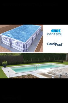 Zelfbouwpakket zwembad infinteau gardipool, perfect zelf zwembad bouwen, Pools, Outdoor Decor, Outdoors, Home Decor, Envy, Decoration Home, Room Decor, Outdoor Rooms, Home Interior Design