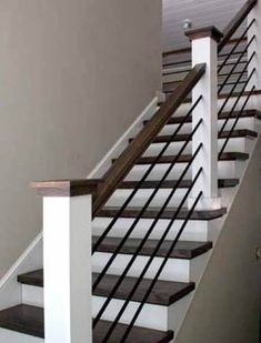 Best Horizontal Round Bar Hollow In 2020 Modern Stair 400 x 300
