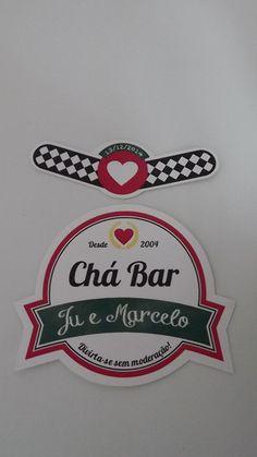 Rótulo cha bar