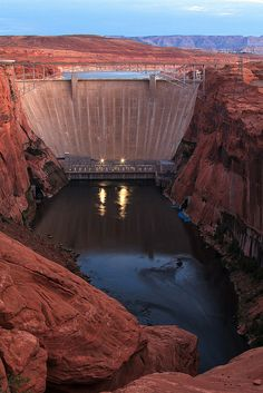 Glen Canyon Dam (I was just thinking about this today, and it inspired me to make a board;))