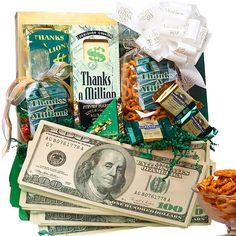 Art of Appreciation Gift Baskets Thanks A Million Thank You Gift Basket
