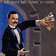 "This is the album cover for Blue Öyster Cult's ""Agents of Fortune"" album. Reprehensible music, I know, but the cover is based on a classical magic poster. I can't remember which one it is. I thought it was based on a Servias LeRoy poster, but I can't find it on the web. If anyone knows what it is, please let me know, OK?"