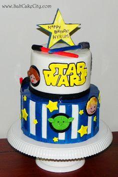 Salt Cake City: Star Wars Cake & Cupcakes