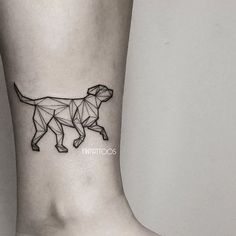 Could keep it blank and fill in a shape with a color each time one passes, an in memory tattoo for all the fur babies in one.
