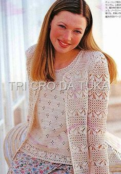 Irish lace, crochet, crochet patterns, clothing and decorations for the house, crocheted. Gilet Crochet, Crochet Cardigan Pattern, Crochet Lace, Baby Girl Crochet, Crochet For Kids, Crochet Carpet, Irish Lace, Beautiful Crochet, Crochet Clothes