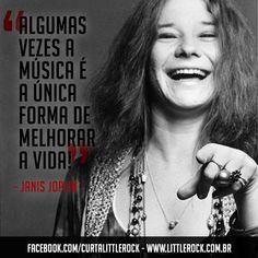 Sabias palavras! Janis Joplin