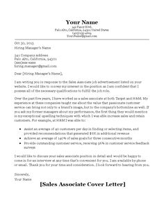 Cover Letter Sales Associate Pleasing Invitation Letter For Ireland Visa Sle Proyectoportal  News To Go 2 .