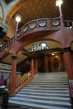 Lucerna Passage | Lucerna Cinema Entrance