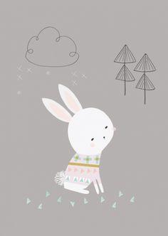 Vicky Riley 'Kaart Sweater Bunny'